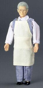 Лавочник, 15,2 см, кукольная миниатюра 1:12 (Dollhouse), Premium арт. 00072 (mm)