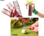 Цветочные ленты для макета. Красные соцветия., Morrison арт. 004-lc-002 (Mr)