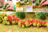 Фолиаж для имитации цветов. Красные цветы 50 мл, Morrison арт. 004-ppc-002 (Mr)