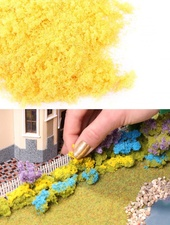 Фолиаж для имитации цветов. Желтые цветы 50 мл, Morrison арт. 004-ppc-003 (Mr)