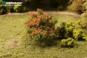 Красный куст для макета леса или цветущего сада, Morrison арт. 011-kr-002 (mm)
