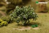 Белый цветущий кустарник для макета ландшафта, Morrison арт. 011-kr-005 (mm)