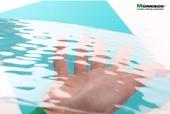 """Водная гладь"" - прозрачная пластиковая имитация воды для диорам (Лист А3- 28смх38см), Morrison арт. 041-tov-003 (mm)"