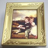 Постер в раме, 6,5х5 см, миниатюра 1:12 (Dollhouse), Dollsmini арт. 01.00110/5 (dh)