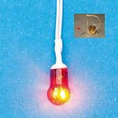 Лампа на проводе, LED, кукольная миниатюра 1:12 (Dollhouse), Emporium арт. 1411 (Sa)