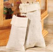 Тканевый мешок, 2 шт, кукольная миниатюра 1:12 (Dollhouse), Emporium арт. 4645 (mm)