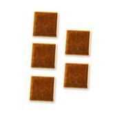 Керамическая плитка, коричневая, 5 шт., кукольная миниатюра 1:12 (Dollhouse), Reutter Porzellan арт. 01.507/9-5 (Az7)