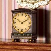 Georgian Mantel часы, 2,2*1,9*1 см, кукольная миниатюра 1:12 (Dollhouse), Emporium арт. 6117 (mm)