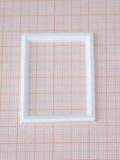 Рамка, 5,5*4,2*0,3 см, пластик, кукольная миниатюра 1:12 (Dollhouse), Dollsmini арт. 01.0936/4_1 (mm)