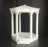 """Беседка """"Элеонора"""", с подсветкой, кукольная миниатюра 1:12 (Dollhouse), Dollsmini арт. 01.0958/4 (mm)"""
