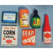 Продовольственные товары, кукольная миниатюра 1:12 (Dollhouse), Streets Ahead арт. D145 (mm)