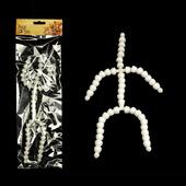 Скелет для игрушки сред. длина 26 см, руки 7 звеньев - 8 см, ноги 9 звеньев - 11 см упак (1 шт), фурнитура для игрушек арт. S26 (mg)