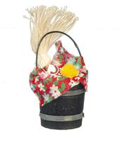 Ведро для уборки, кукольная миниатюра 1:12 (Dollhouse), Premium арт. B1060 (mm)