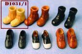 Мужская обувь, 1 пара, кукольная миниатюра 1:12 (Dollhouse), Streets Ahead арт. D1031/1 (mm)
