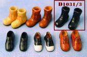 Мужская обувь, 1 пара, кукольная миниатюра 1:12 (Dollhouse), Streets Ahead арт. D1031/3 (mm)