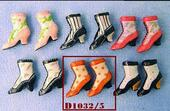 Ботильоны женские, 1 пара, кукольная миниатюра 1:12 (Dollhouse), Streets Ahead арт. D1032/5 (mm)