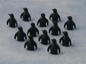 Игрушка Пингвин, 1 шт., кукольная миниатюра 1:12 (Dollhouse), Babettes арт. DA75067 (mm)