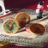 Рождественские банки Ностальгия, 3 шт., кукольная миниатюра 1:12 (Dollhouse), Emporium арт. 3868 (mm)