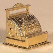 Кассовый аппарат, кукольная миниатюра 1:12 (Dollhouse), Emporium арт. 4230 (mm)