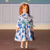 Меган Кукла, кукольная миниатюра 1:12 (Dollhouse), Emporium арт. 4753 (mm)