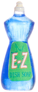 Жидкость для мытья посуды, кукольная миниатюра 1:12 (Dollhouse), Premium арт. FA40016 (mm)