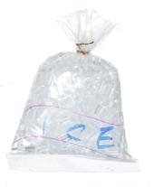 Мешок со льдом, кукольная миниатюра 1:12 (Dollhouse), Premium арт. IM65019 (mm)