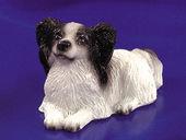 Собака Папильон, 2,3х3,8 см, кукольная миниатюра 1:12 (Dollhouse), Premium арт. IM65138 (mm)
