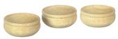 Деревянная чаша, d=2,4 см, 1 шт., кукольная миниатюра 1:12 (Dollhouse), Premium арт. IM65170/1 (mm)