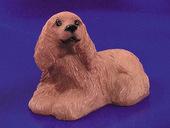 Собака Американский кокер-спаниель, 2,6х3,5 см, кукольная миниатюра 1:12 (Dollhouse), Premium арт. IM65272 (mm)