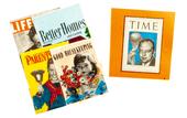 Набор из 5 журналов, муляж, кукольная миниатюра 1:12 (Dollhouse), Premium арт. MA1020 (mm)