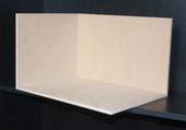 Румбокс 3 стены, МДФ 8 мм, 23,7*38,5*28,5 см (В*Ш*Г), вес 1,7 кг, левый, миниатюра 1:12 (Dollhouse) арт. RB-03L (dh)