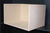 Румбокс 4 стены, МДФ 8 мм, 23,7*38,5*28,5 см (В*Ш*Г), вес 2,1 кг, миниатюра 1:12 (Dollhouse) арт. RB-04 (dh)
