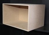 Румбокс 5 стен, МДФ 8 мм, 22,9*38,5*8,5 см (В*Ш*Г), вес 2,8 кг, миниатюра 1:12 (Dollhouse) арт. RB-05 (dh)