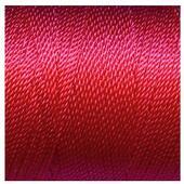Витая нить 1 мм х 4,5 м, цвет - Насыщенный розовый, кукольная миниатюра 1:12 (Dollhouse), Itsy Bitsy Mini арт. TRM032C (ibb)