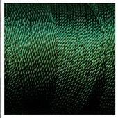 Витая нить 1 мм х 4,5 м, цвет - Темно-зеленый, кукольная миниатюра 1:12 (Dollhouse), Itsy Bitsy Mini арт. TRM048C (Az5)
